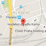 Florenz Prague google maps